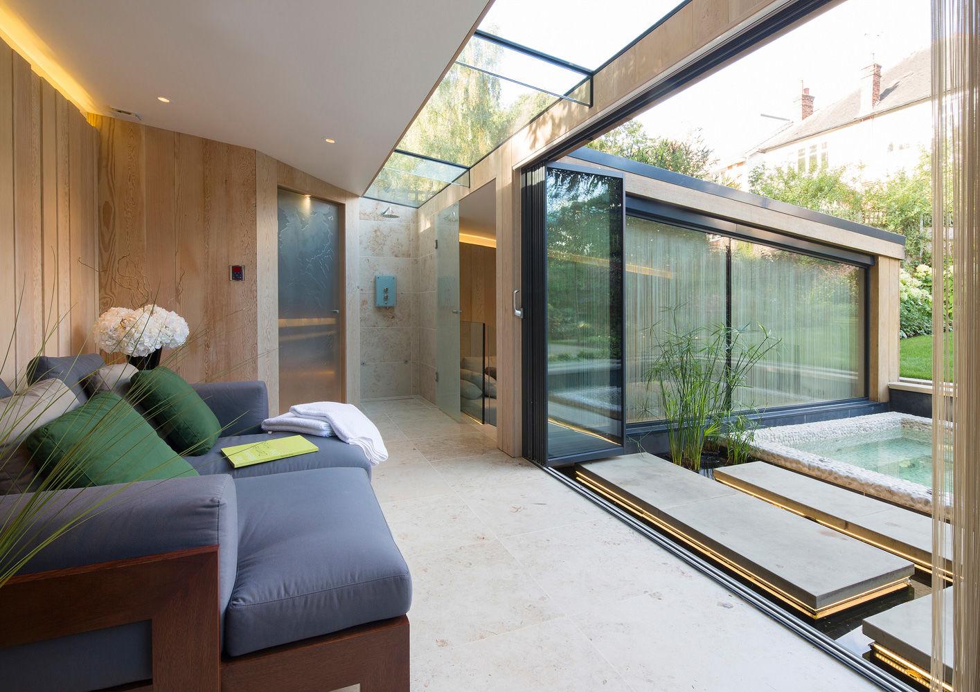 London the garden room interiors contract en for Rooms interior design hamilton