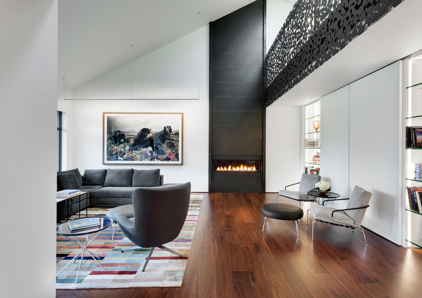 Montreal Iron Lace Interiors Contract En - Downtown-montreal-penthouse-by-rene-desjardins