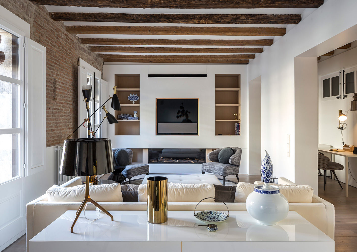 Barcelona Apartment Interiors Amp Contract En