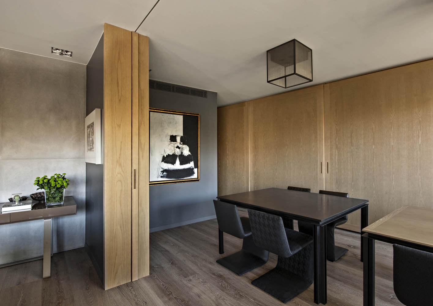 Barcelona privatwohnung im turo parc interiors contract de