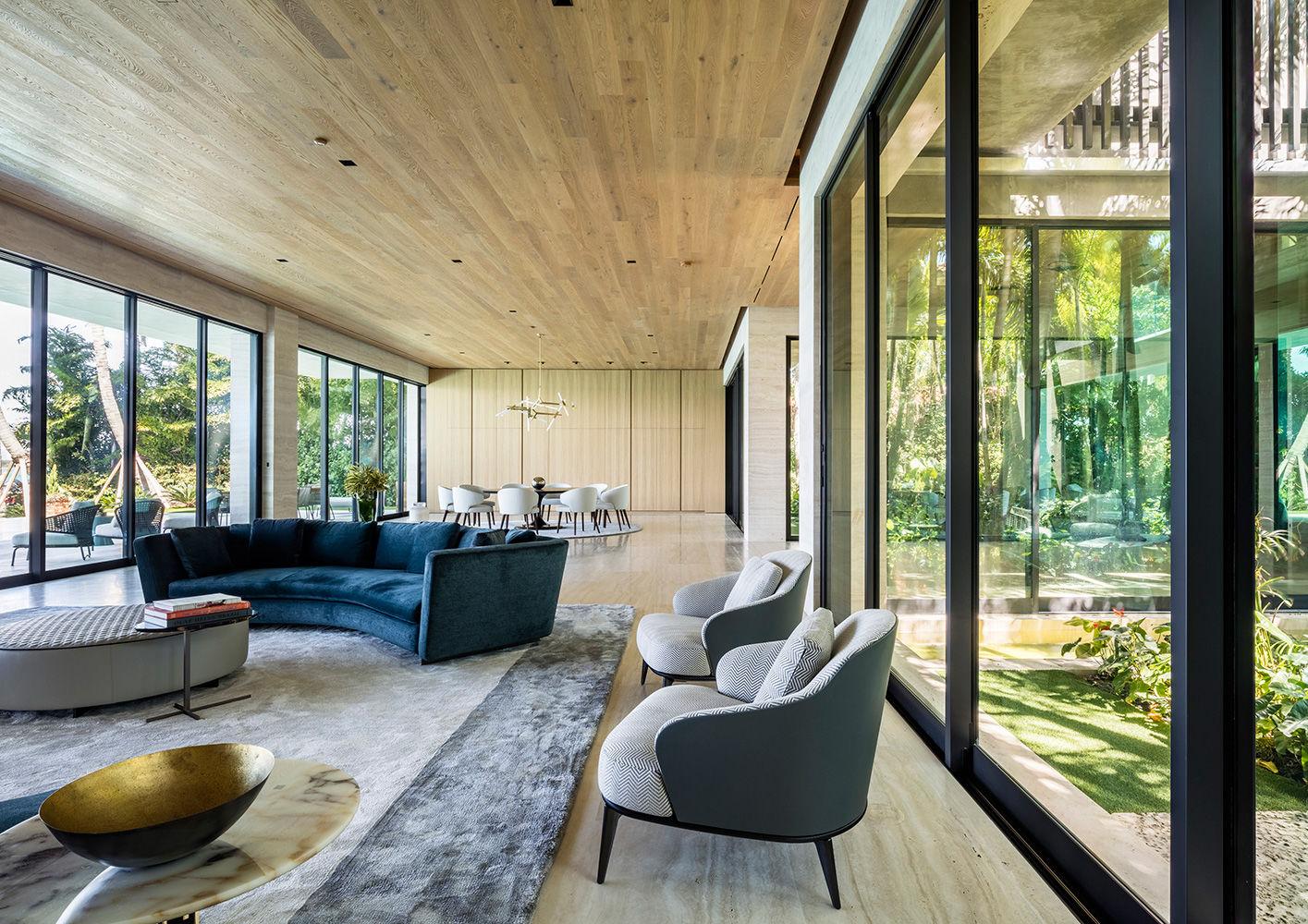 Miami bal harbour residence interiors contract en