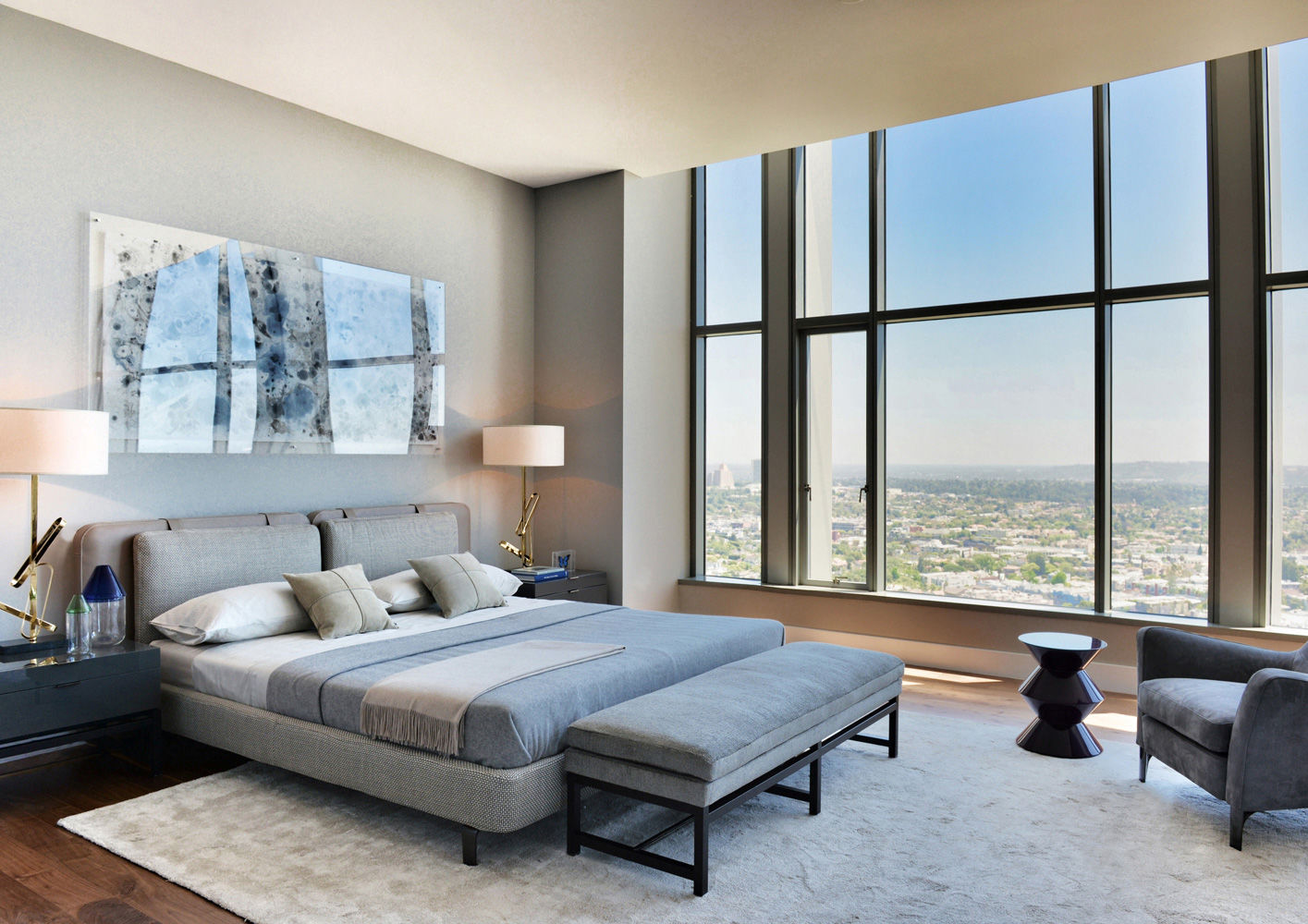 Camere Da Letto Minotti.L A Carlyle Residence Penthouse Interiors Contract It