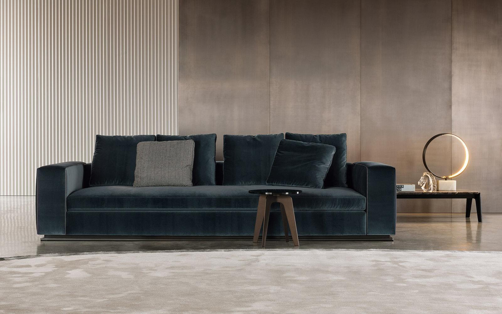 3d models sofa minotti leonard divano cm 293 for Divano minotti
