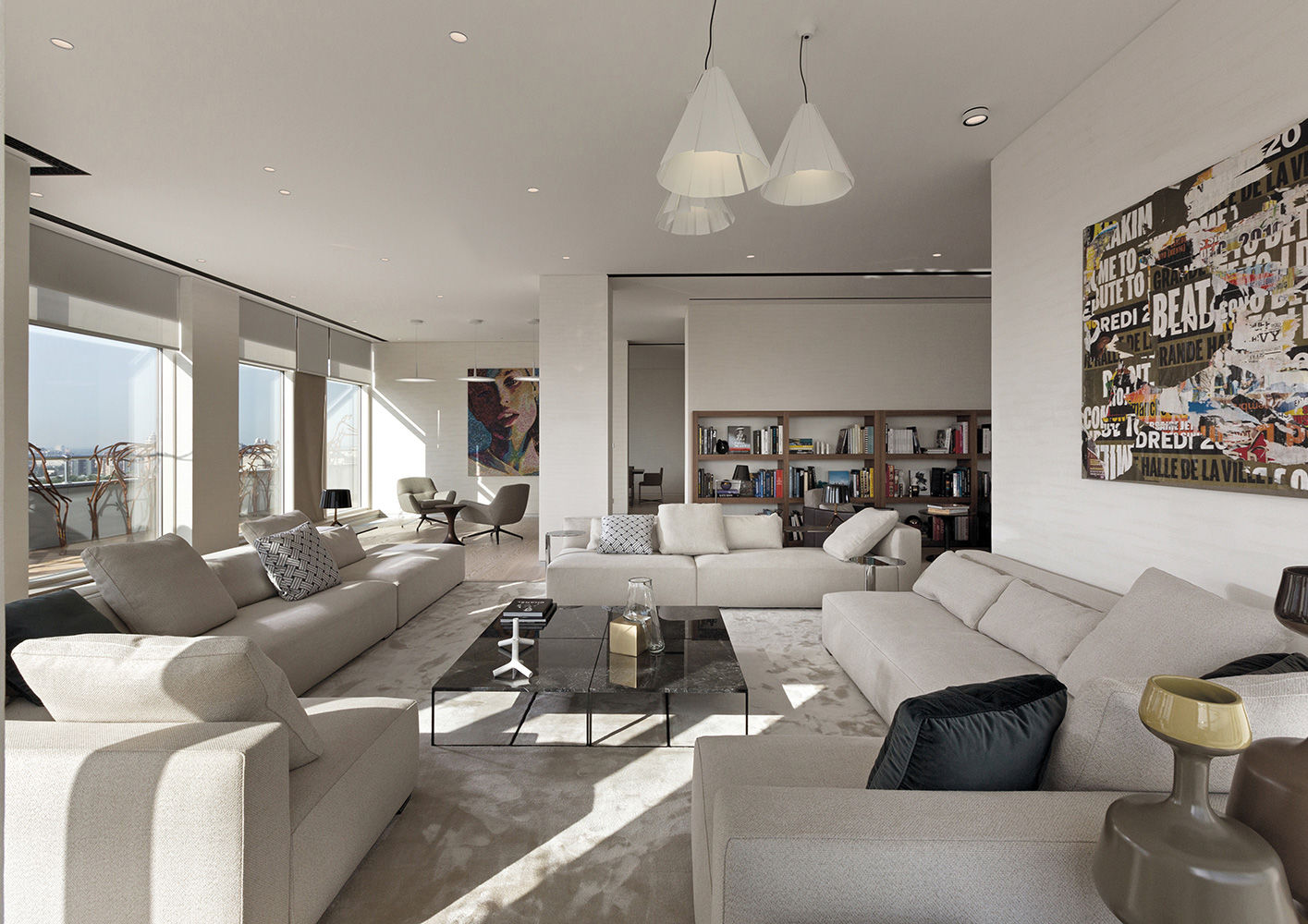 Kiew penthouse interiors & contract de