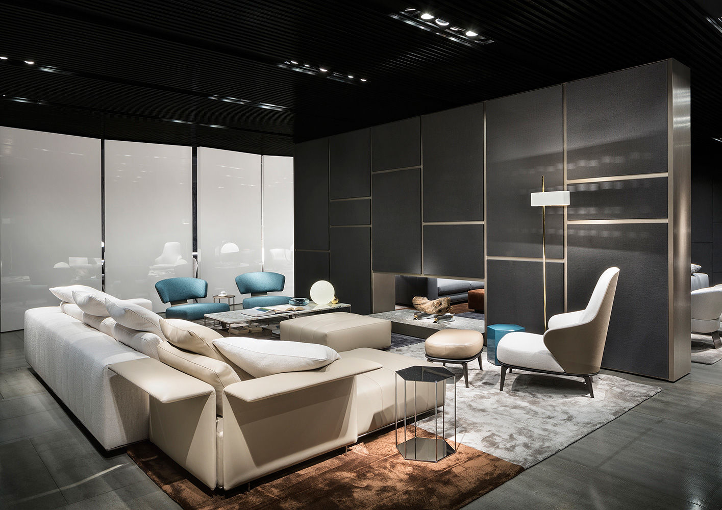 minotti imm cologne 2017. Black Bedroom Furniture Sets. Home Design Ideas