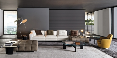 Design Bank Minotti.Lawrence Seating System Sofas En