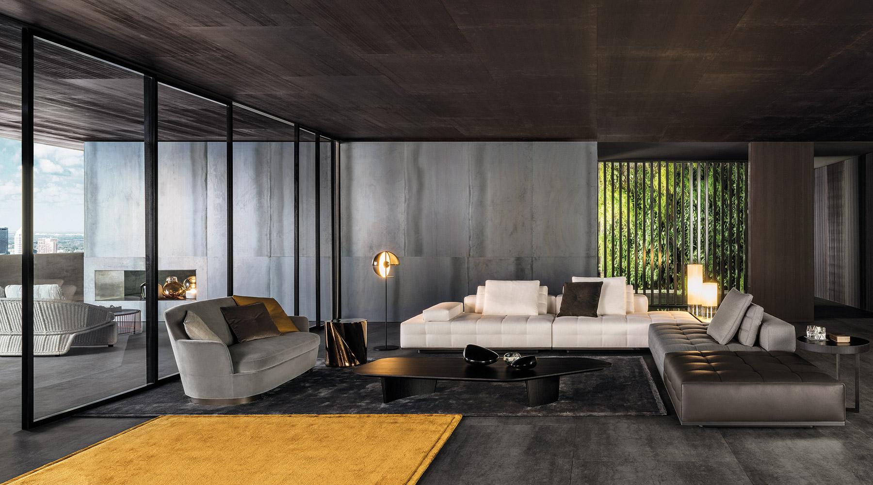 Lawrence seating system sofas en for Designer interni