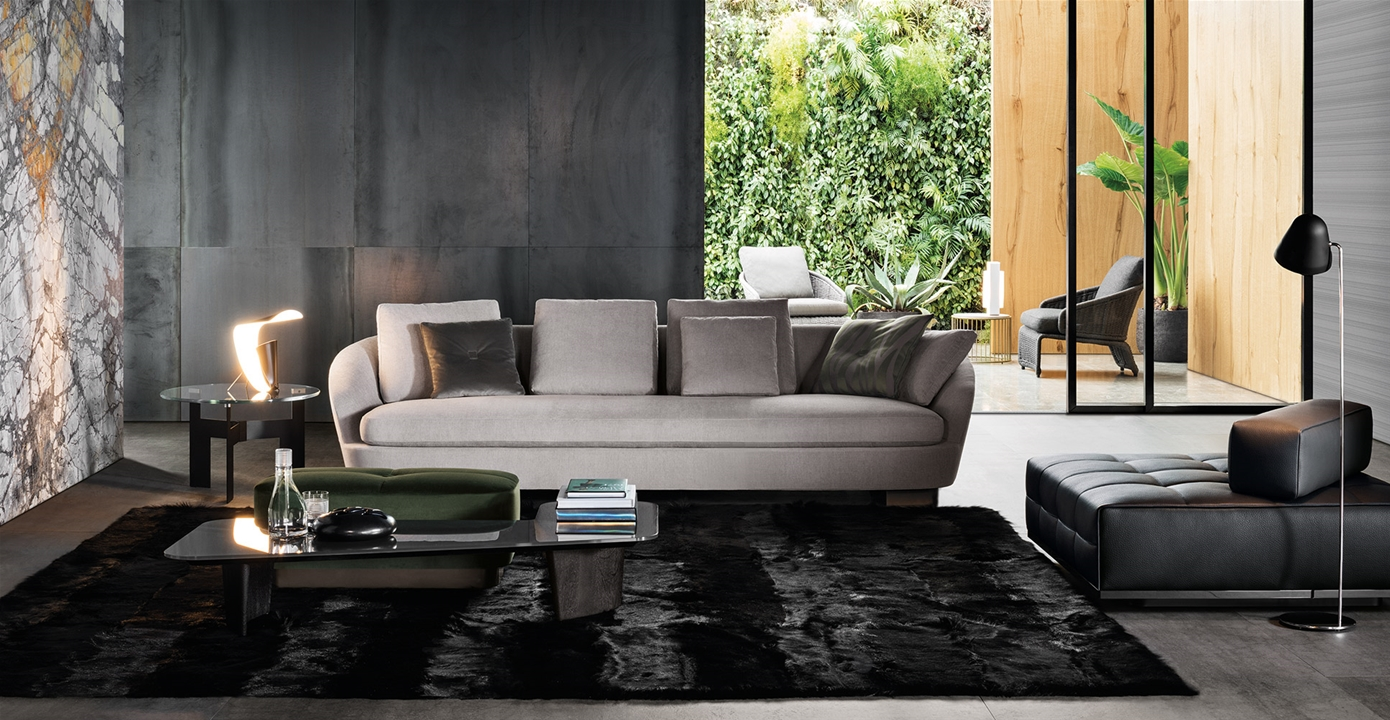 Design Bank Minotti.Jacques Sofas En