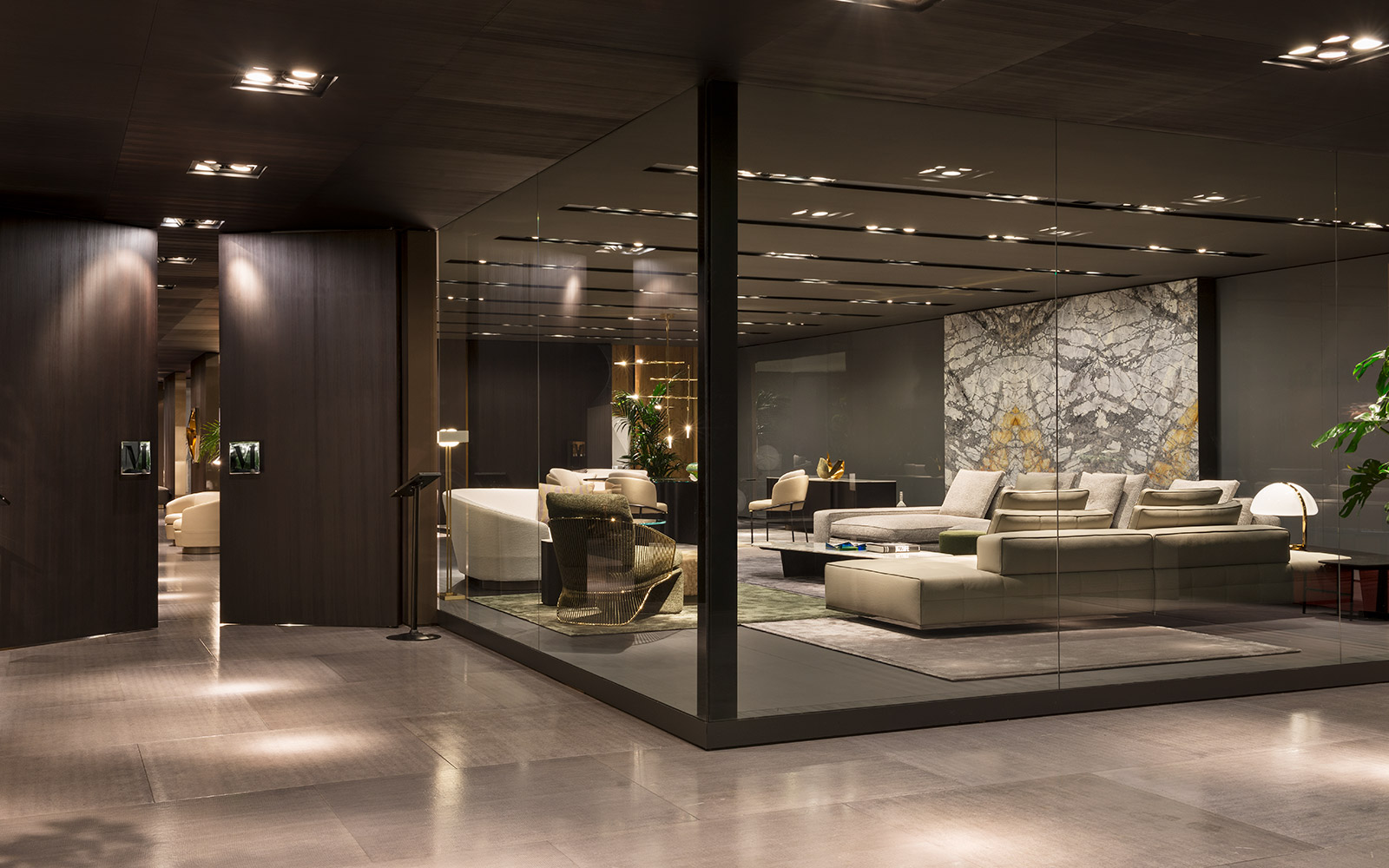 Minotti salone del mobile 2017 for Salone del mobile stand