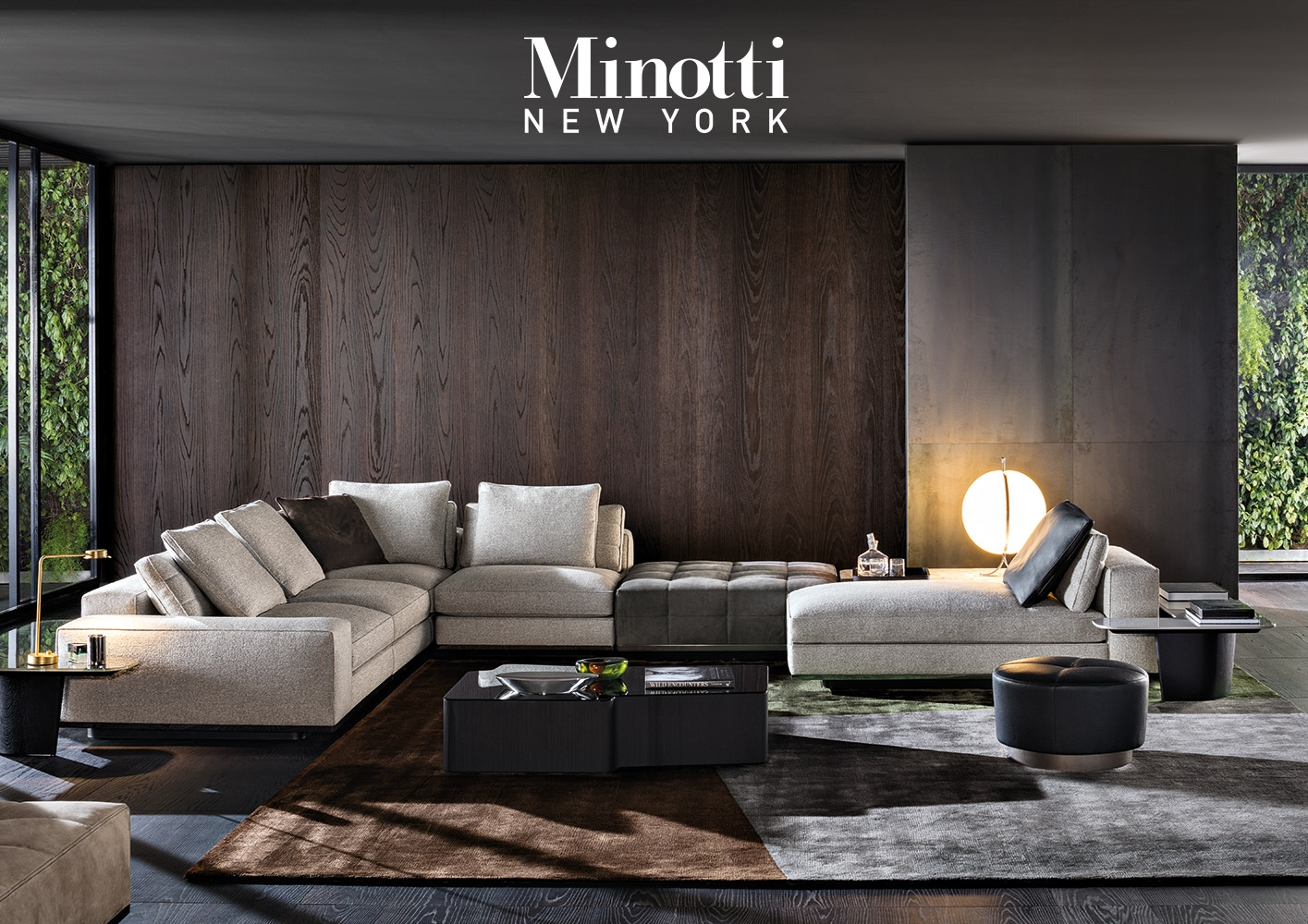Merveilleux Minotti New York, Presentation Of The 2017 Collection