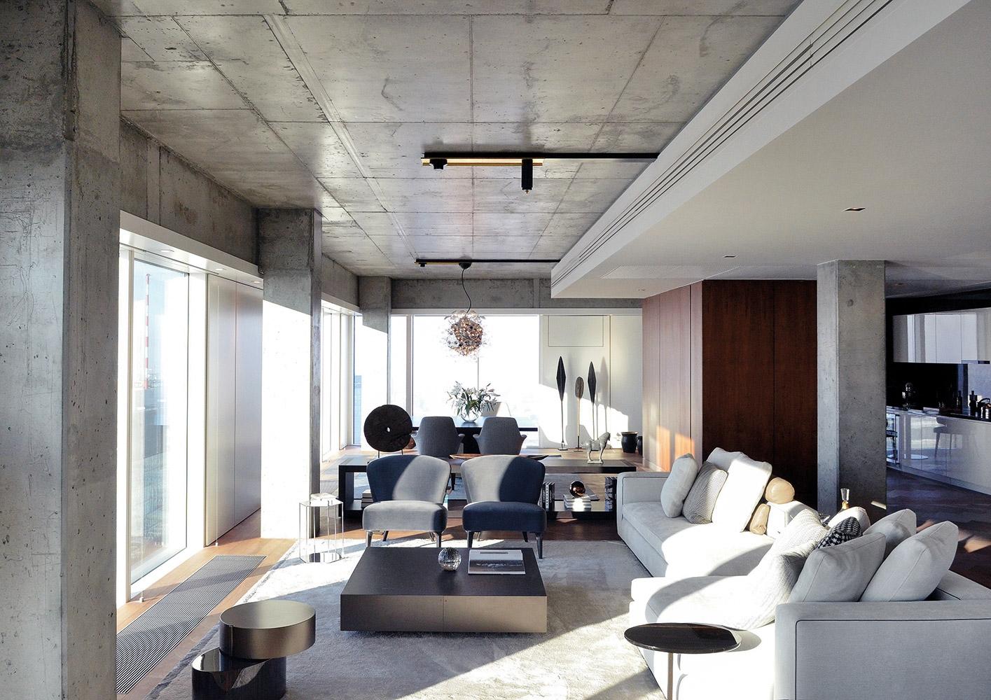 Warsaw zlota 44 apartment complex
