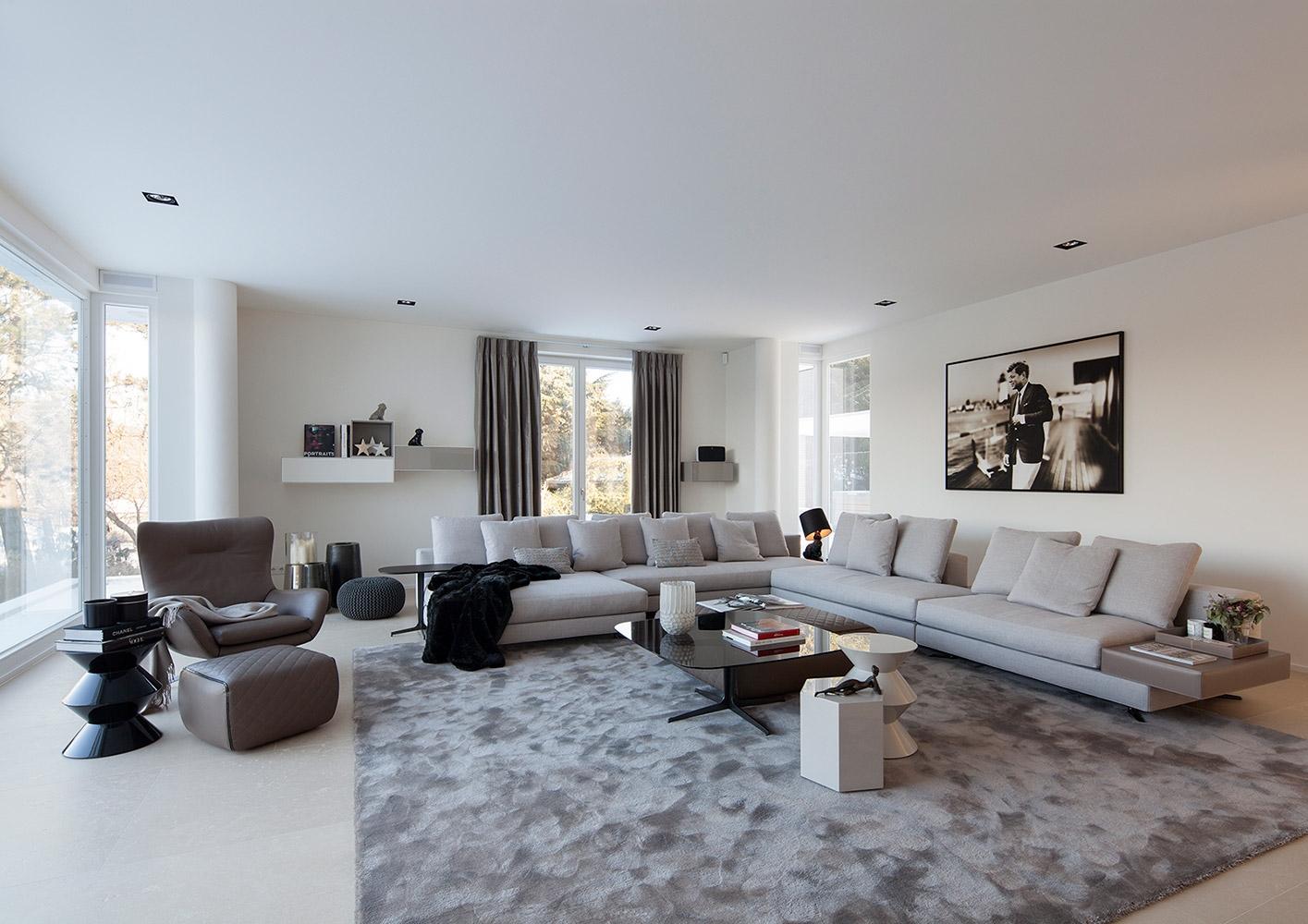 francoforte villa faller interiors contract it. Black Bedroom Furniture Sets. Home Design Ideas