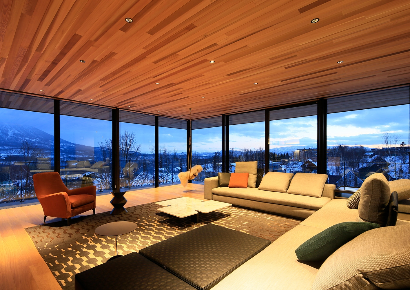 Hokkaido residential project interiors & contract en