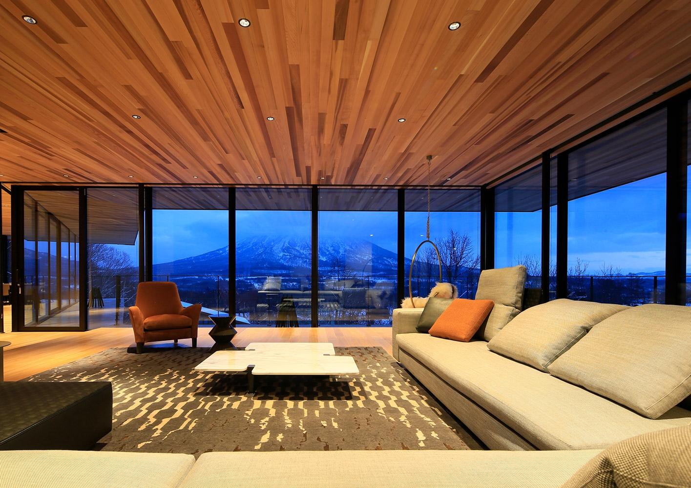 Hokkaido residential project interiors contract en