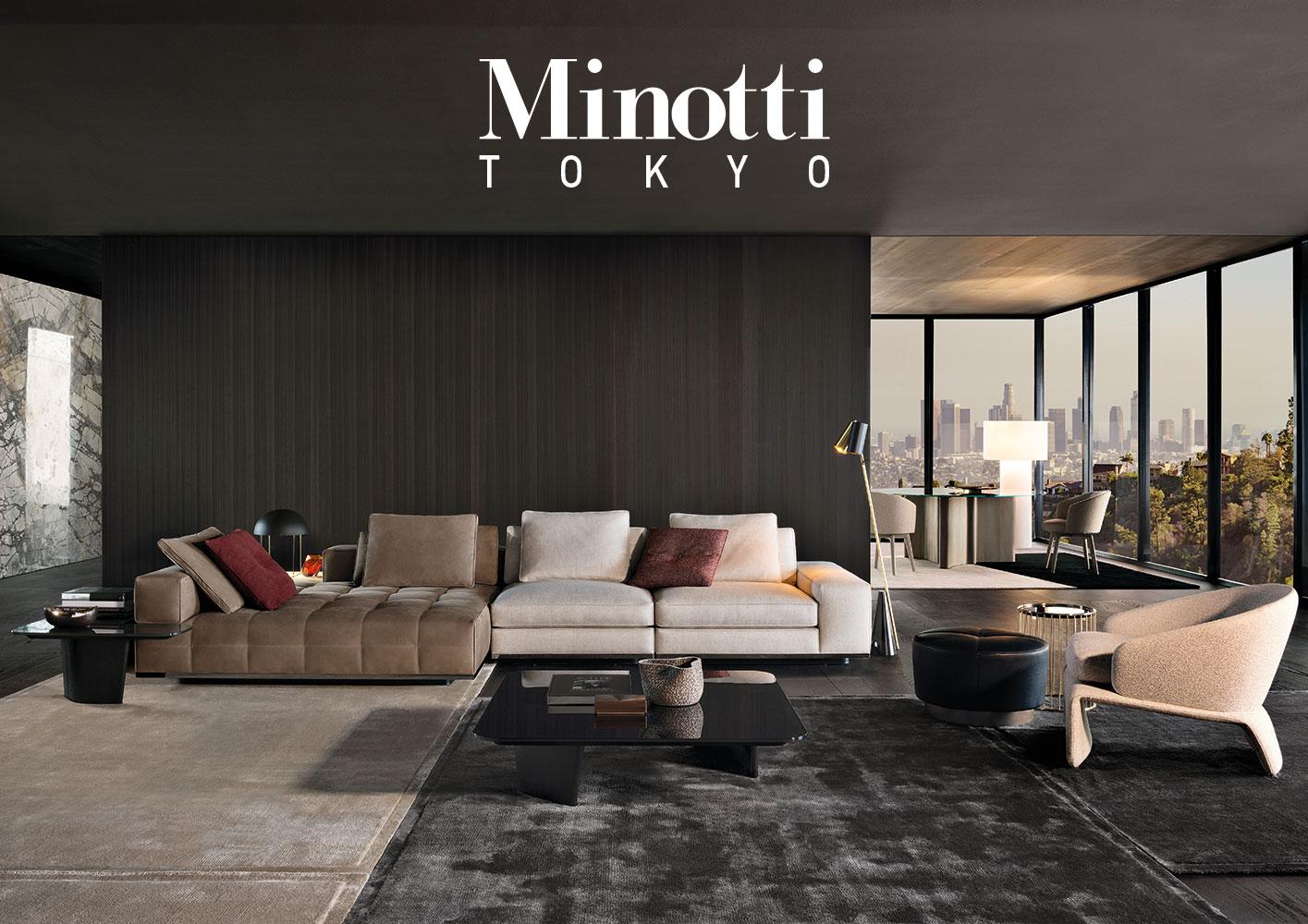 6 minotti aoyama. Black Bedroom Furniture Sets. Home Design Ideas