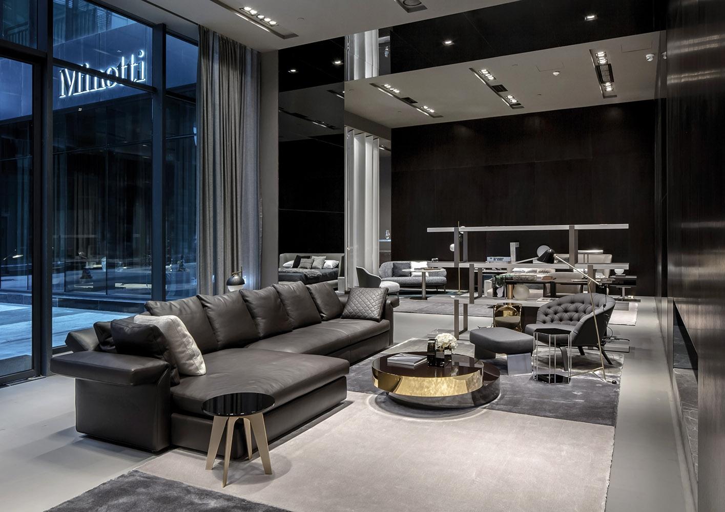 Cina apertura flagship store minotti chengdu by lhc for Negozi di arredamento del distretto di design dallas