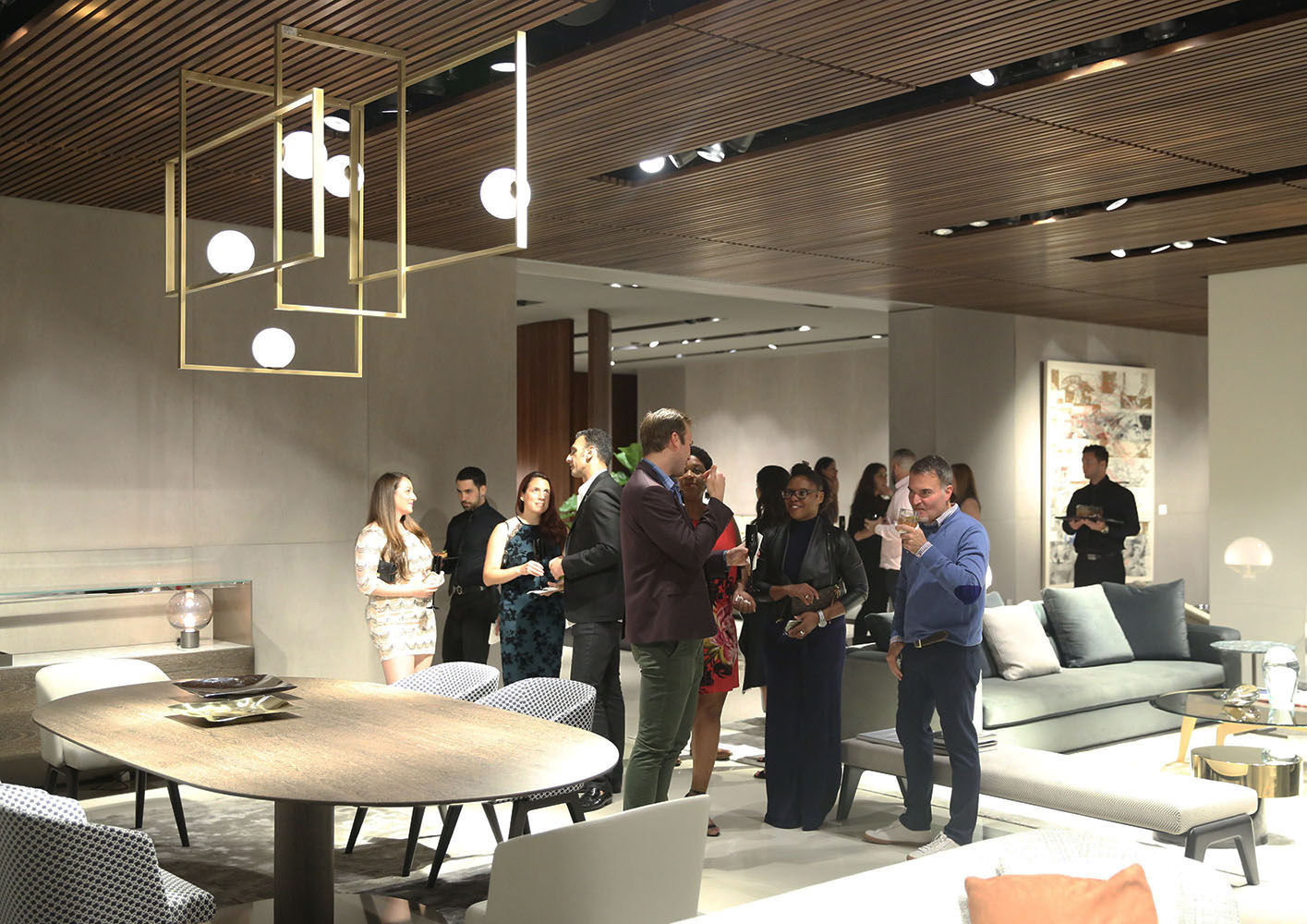 Events en minotti miami party collection