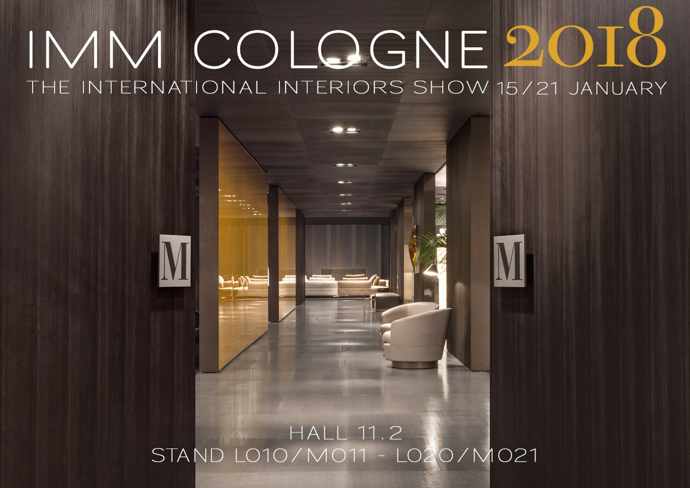 imm cologne 2018 the international interiors show. Black Bedroom Furniture Sets. Home Design Ideas