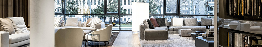 "The new ""Minotti living concept"" opens at Pesch in Cologne"