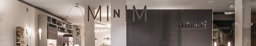 """Minotti and Dordoni. A unique affinity"" goes on stage at MINIM Barcelona"