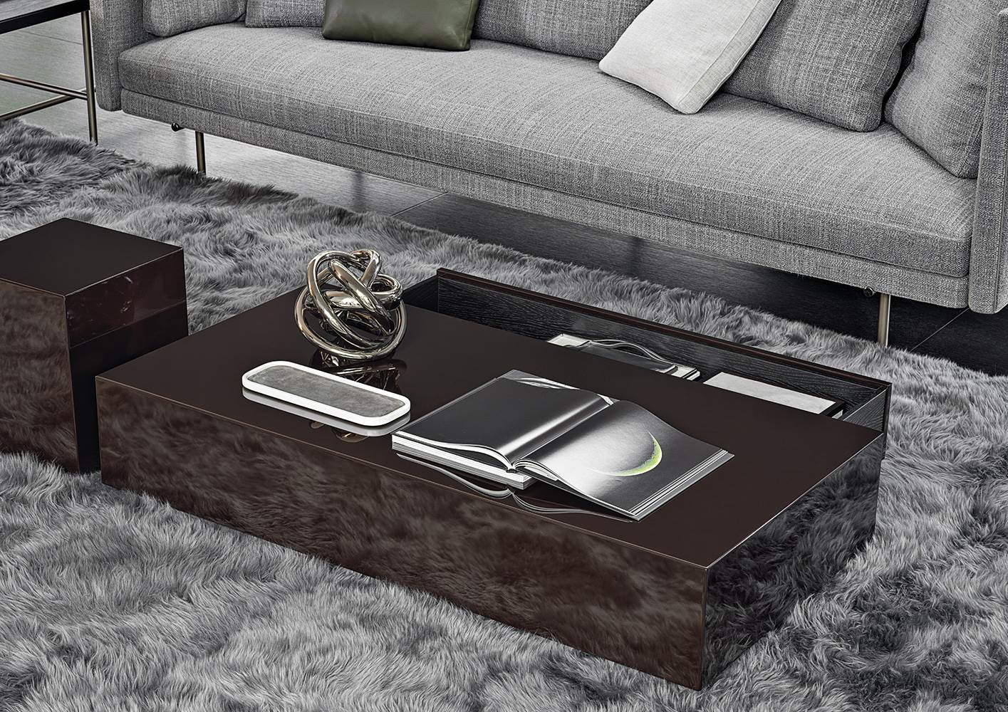 Solid Coffee Tables En