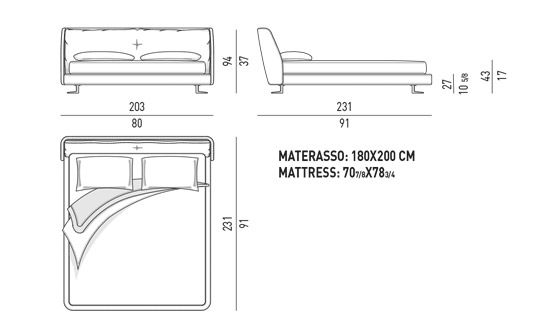 queen size mattress drawing5 drawing