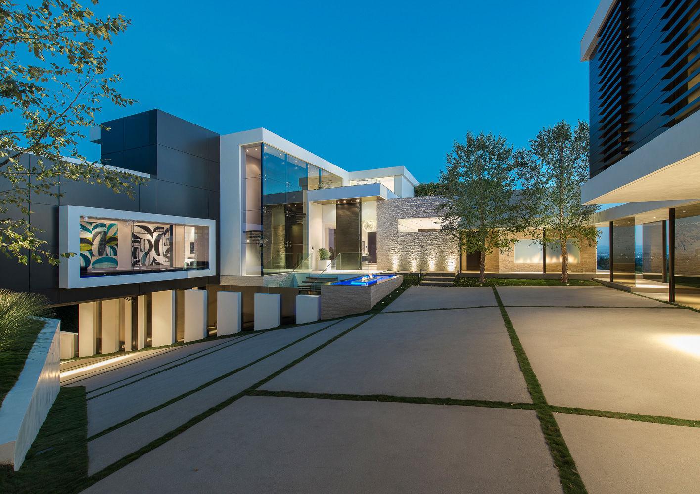 los angeles laurel way villa interiors contract en. Black Bedroom Furniture Sets. Home Design Ideas