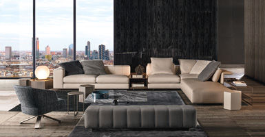 Design Bank Minotti.Freeman Seating System Sofas En
